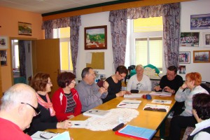 Upravni odbor pri delu