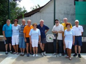 Ekipa turnirja v balinanju