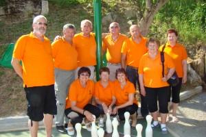 Tekmovalni ekipi v Semiču