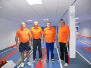 Dušan, Vanjo, Edo in Ciril pa so se trudili za moško ekipo
